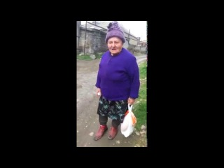 Azeri nene super prikol / Азери прикол бабушка +16