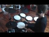 Alesis DM10X Mesh Kit optimized by drum-tec