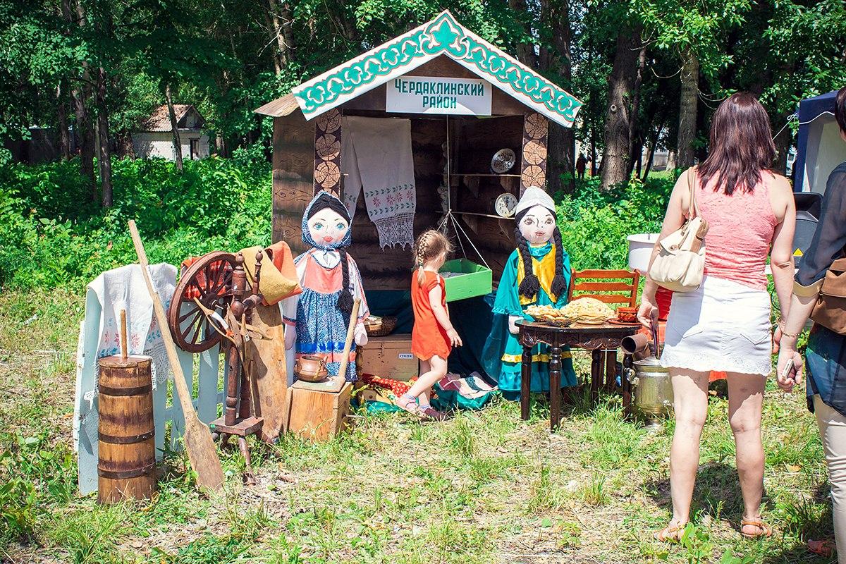 Татарское подворье Чедаклинского района