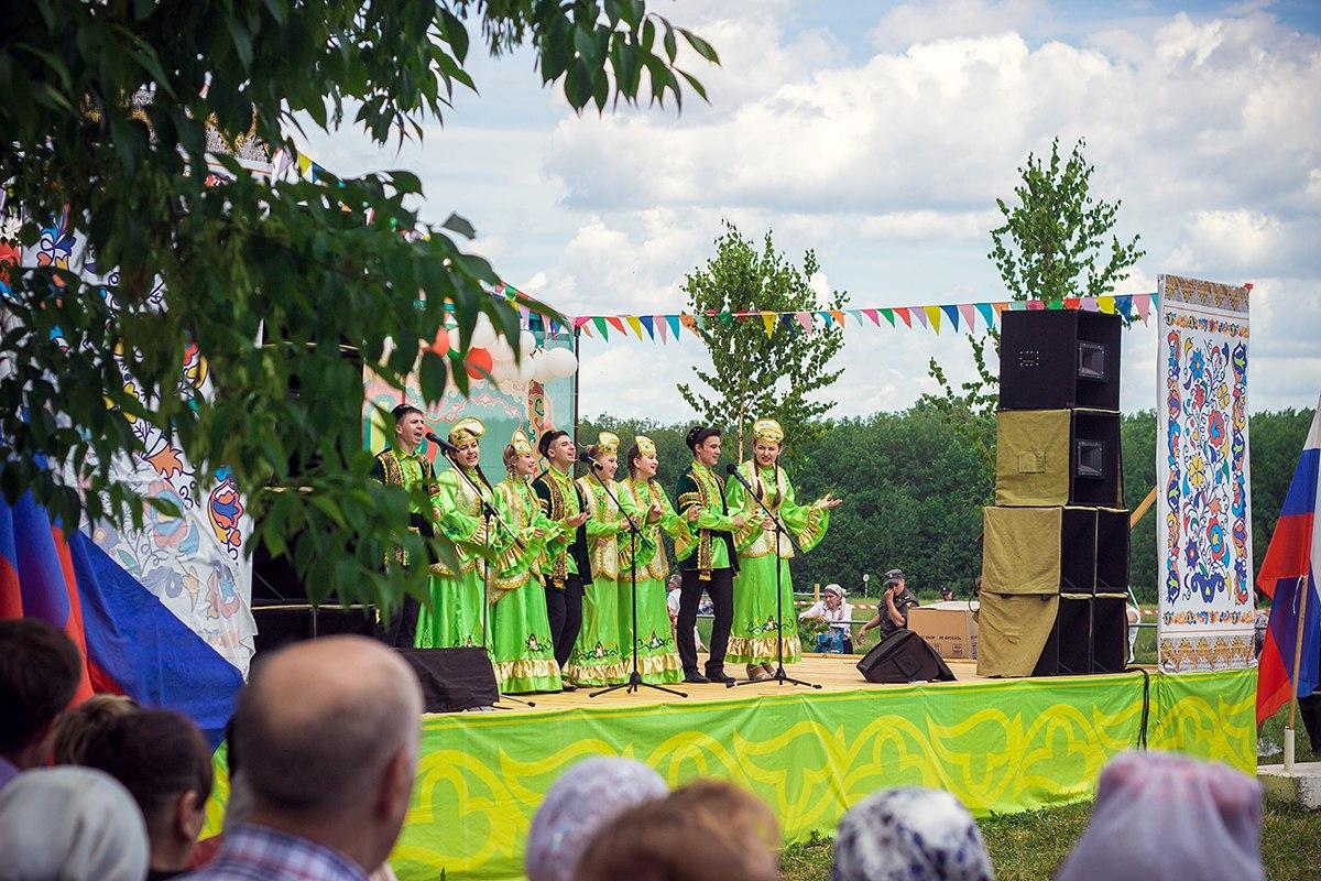Сабантуй. Ульяновск. Сцена