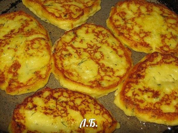 Оладьи из варёной картошки рецепт с пошагово