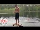 Самое Смешное Видео: Заднее сальто от бога