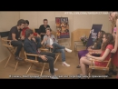 Nikki Sara surprise their fans and meet One Direction [RUS SUB]