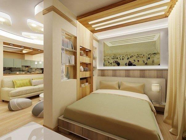 Спальня - гостиная