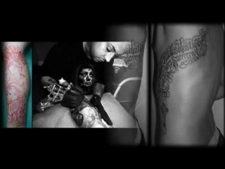 TATTOO - CHICANO STYLE - FREE HAND - EXCLUSIVE - BLACK AND GREY - ALVARO MIGUEL
