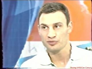 Олимпийские игры в Афинах: интервью Виталия Кличко, 2004 г.