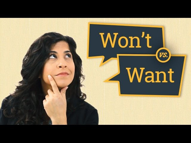 Won't vs. Want | American English Pronunciation