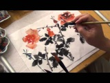 How to Paint Red Hot Roses, a complimentary tutorial to Lesson 6 of Henry Li's online CBP Class