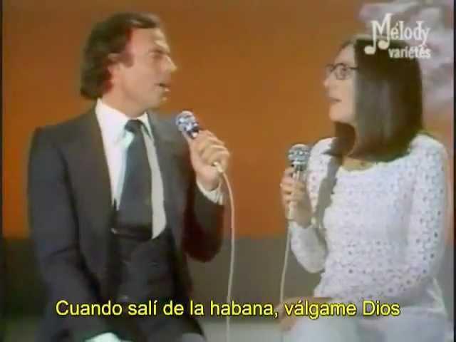 Nana Mouskouri Julio Iglesias Serenata de Schubert e La Paloma