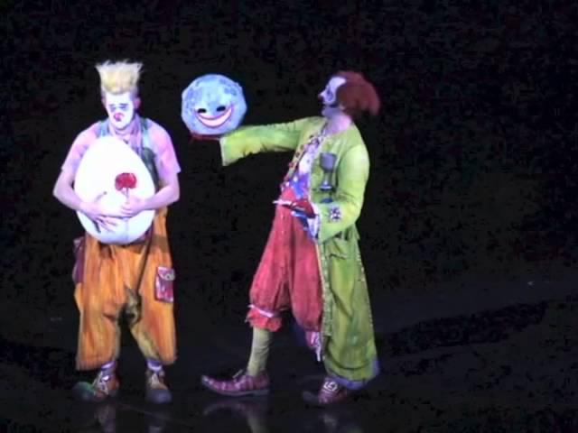 Cirque du Soleil ZAIA, Macao. Clown act by Onofrio Colucci