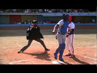 The 'Naked Gun' umpire scene never fails to make me laugh; Frank tries investigating and umpiring a baseball game simultaneously