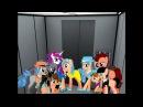 Пони-клип. Прикол - В лифте.