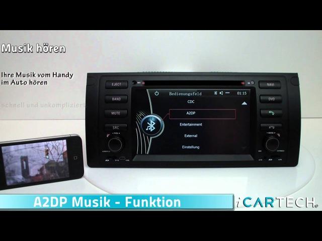 Autoradio Navi for BMW E39 E38 E53 X5 M5 SatNav Sat Nav like Dynavin - Aurora E39 ICARTECH