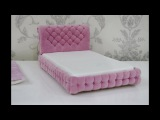 Кровать для кукол Барби, Монстер Хай и.т.д./Bed for dolls Barbie, Monster High, etc.