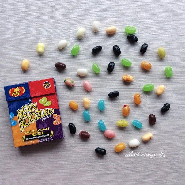 BEAN BOOZLED это маленькие желейные бобы оригинальные и яркие! Самые