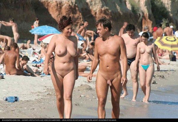 фото голых нудистов баб