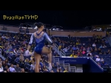 Thick Latina Gymnast with Spectacular Beam Mount