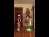 Led Shoes dancing Mother & Daughter