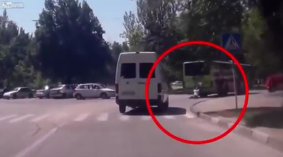 Український термінатор на українських дорогах VIDEO