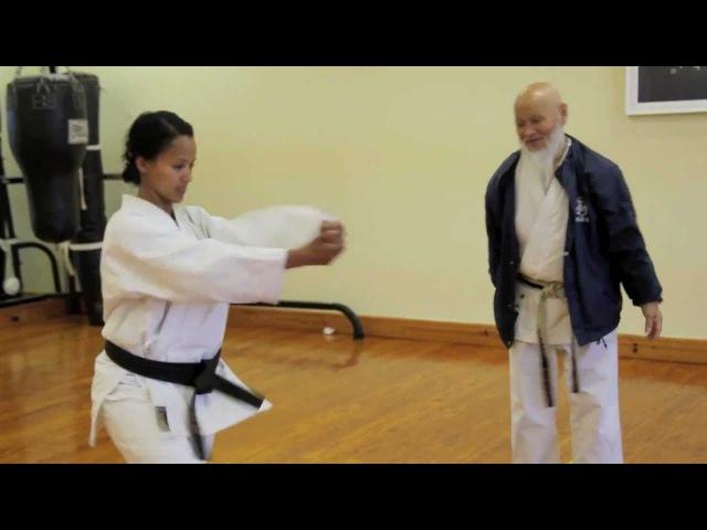 Master Ochi 8th Dan JKA teaches Kata Chinte