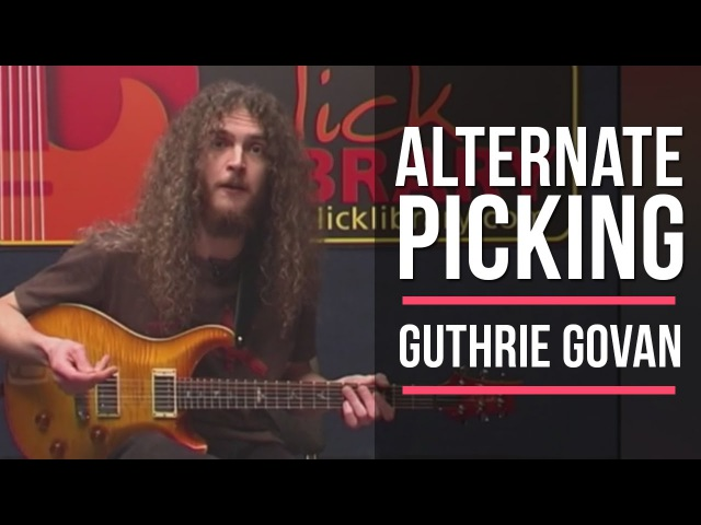 Guthrie Govan Alternate Picking Guitar Lesson | Licklibrary Guitar Lessons TBT