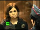 Выступление участниц Pussy Riot на кассации в суде