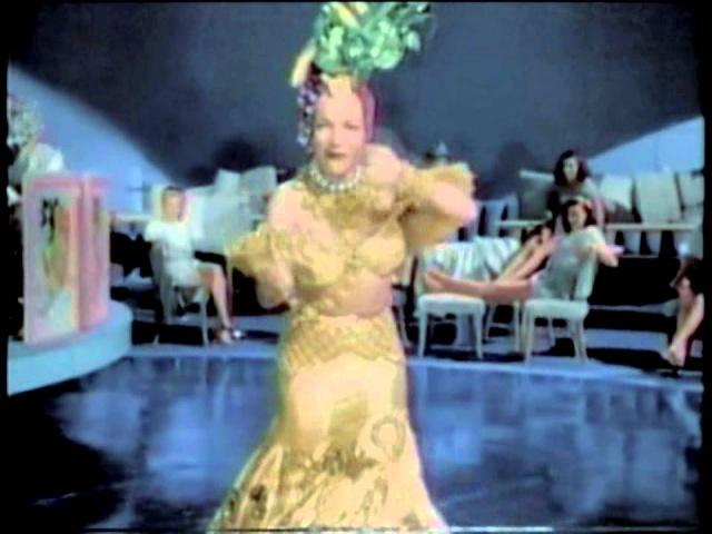 CARMEN MIRANDA   Tico-Tico no Fubá - Colorizado (1947)