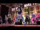 Steve Boedt Zumba Shakira Belly Dance the Nike Blast 2011 Sweden