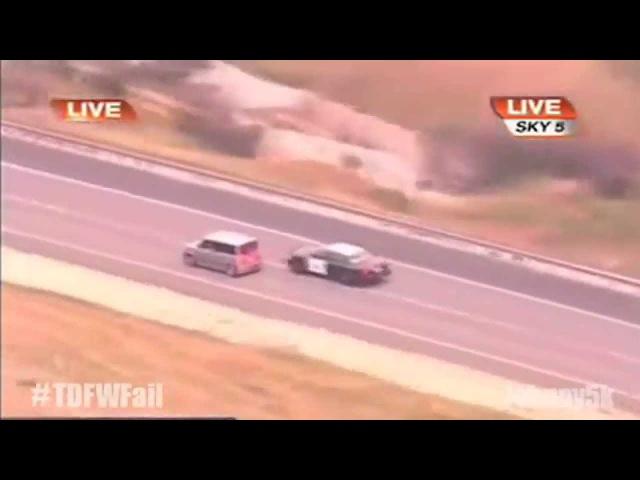 Turn Down For What Fail - Crazy Woman Car Chase TDFWFail