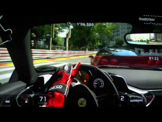Gran Turismo 5 - License IC 10 - Ferrari 512BB '76 - Rome City - Gold Medal