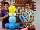 Фигуры из шаров Мальчик и девочка (Balloons boy and girl)