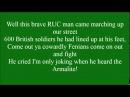 My Little Armalite with lyrics