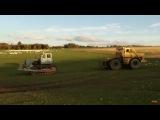 Тракторы, кто сильнее? Кировец К-700 vs Т-100 (гусеничный)
