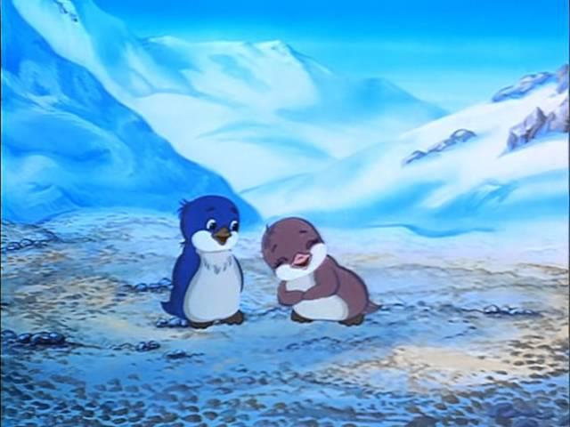 Приключения пингвиненка Лоло 1 серия 1986г Мультфильм