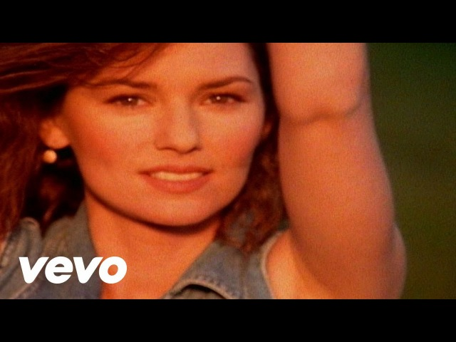 Shania Twain - Any Man Of Mine (Official Music Video)