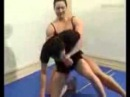 Strong Woman wrestling with weak boy Part 3