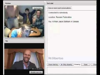 Плохие парни нашли в онлайн Джейсона Стетхема Jason Statham!