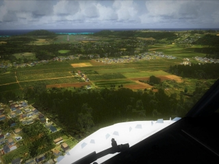 [FSX] - Landing in Mauritius