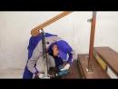 Изготовление, монтаж, установка нержавеющих перил со стеклом своими руками без сварки