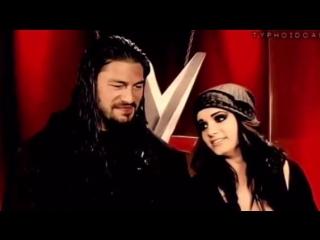 Paige  Roman Reigns - Worlds Collide