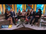 13 января, 2016 - Хилари, Мириам, Саттон, Нико и Дебби на Access Hollywood Live в Нью-Йорке