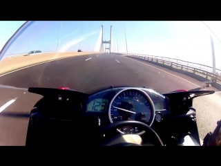 Езда на предельных скоростях глазами мотоциклиста