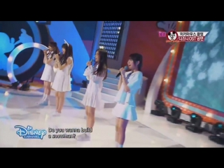 [2015.07.25] SM ROOKIES Girls - Do You Wanna Build A Snowman | Mickey Mouse Club