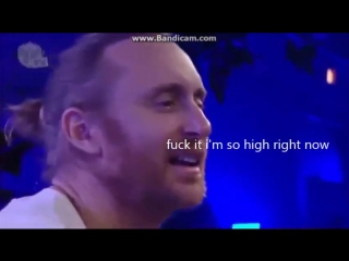 David Guetta NEW drug effect at Tomorrowland 2015