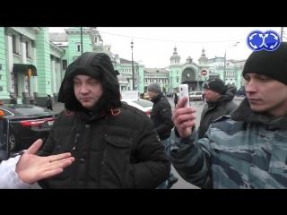 Рейдерский захват около Белорусского вокзала