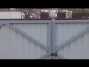 Косяки на стройке 4. Вздулись железные ворота. Причина не найдена. Все по уму