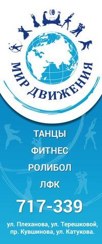 """Ролибол, танцы, развитие - """"Мир движения"""" Липецк"""