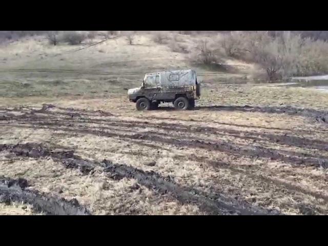 луаз по грязи часть 2 и L 200 ДНЕПР