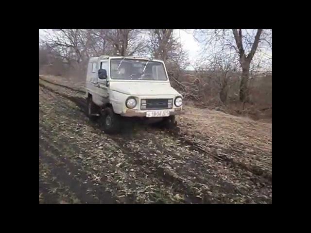 луаз по грязи часть 3 и L 200 ДНЕПР