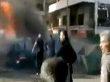 Появилось первое видео с места взрыва около университета в Латакии